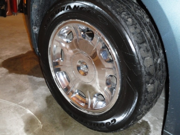 meguiars endurance tire spray