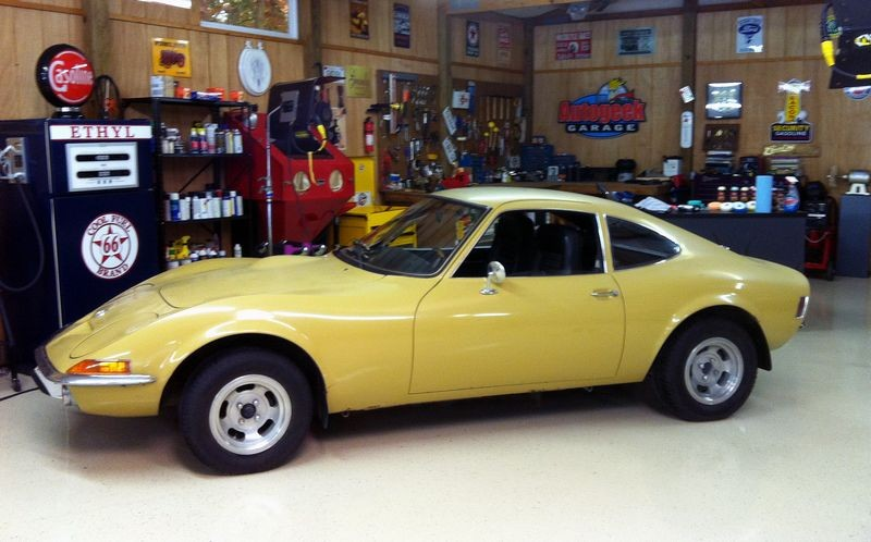 poor man 39 s corvette 1973 opel gt on my classic car with dennis gage cyclo polisher. Black Bedroom Furniture Sets. Home Design Ideas