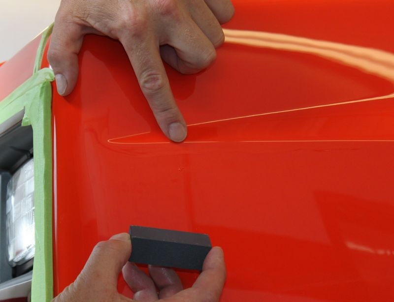 How To Use Meguiar 39 S Unigrit Sanding Blocks To Remove Runs And Dirt Nibs In Paint
