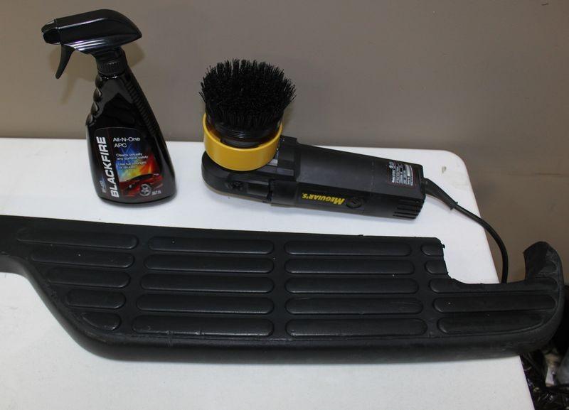 How to restore exterior black plastic trim page 2 for Best way to restore exterior black plastic trim