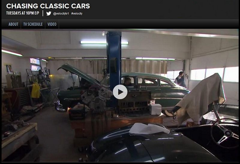 Hudson Hornet On Chasing Classic Cars With Wayne Carini