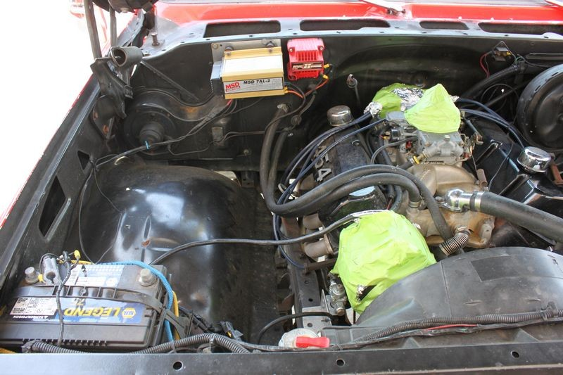 how to clean your engine compartment