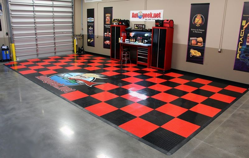 Race deck quottypequot flooring for How much is racedeck flooring