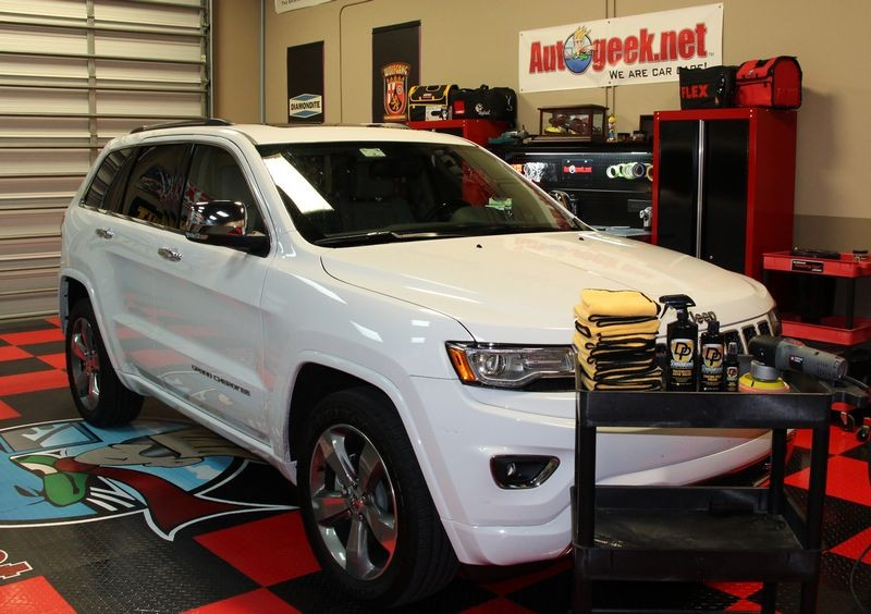Cleaned Amp Coated In 3 Hours 2014 Jeep Grand Cherokee