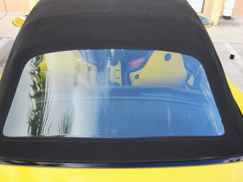 How To Clean Plastic Convertible Top Windows