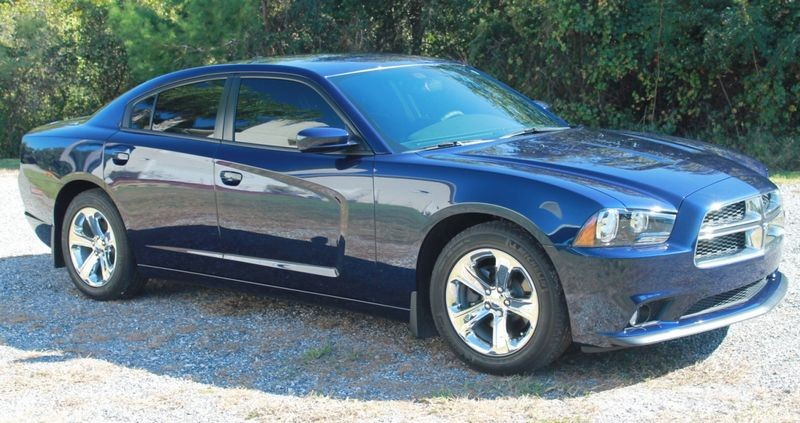 in this Dodge Advertizing Dodge Charger 2014 Blue