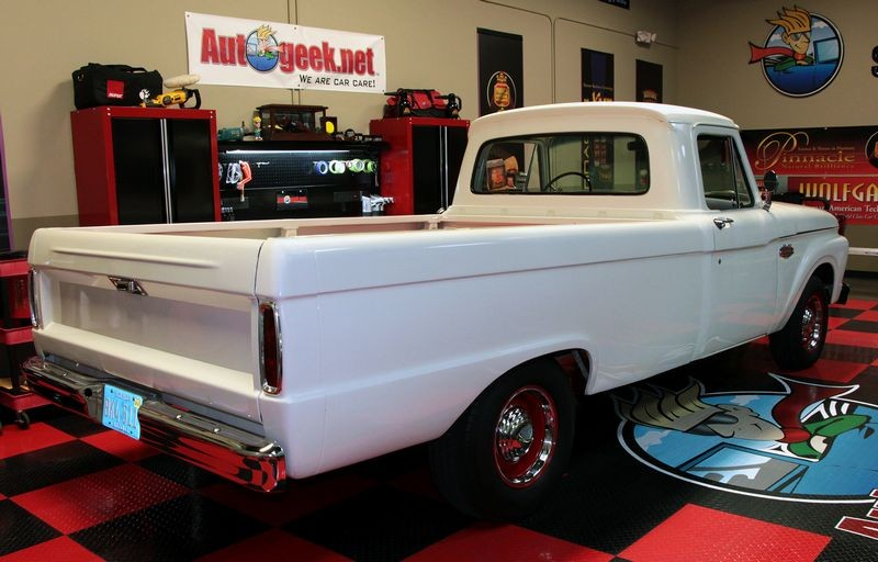 1965 Ford F100 Extreme Makeover - Detailing Class Truck
