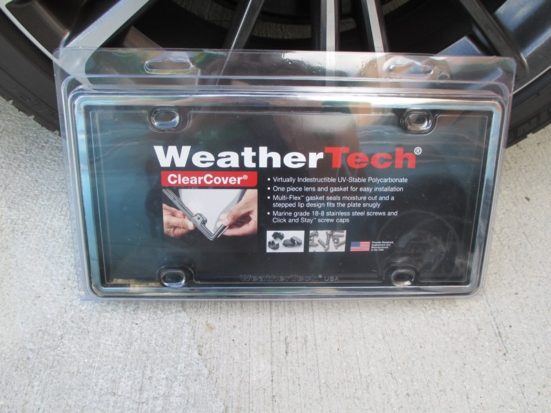 Review Weathertech Clearcover License Plate