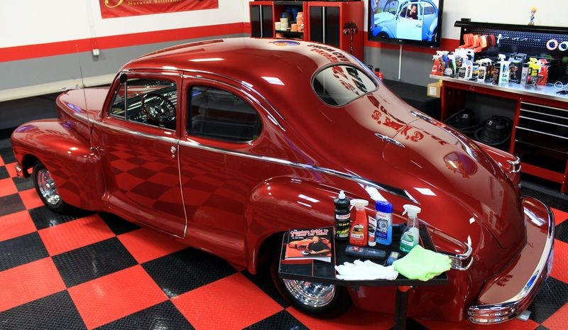 Pictures 1947 Lincoln Zephyr Coupe Show Car Makeover At