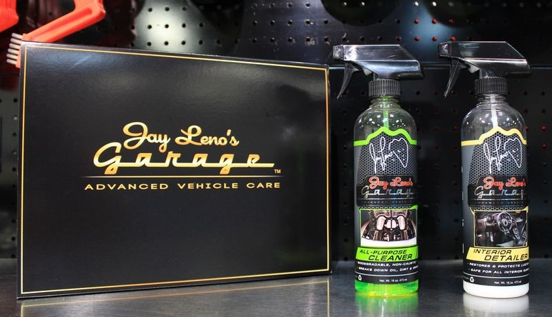 jay leno garage all purpose cleaner and interior detailer review by mike phillips. Black Bedroom Furniture Sets. Home Design Ideas