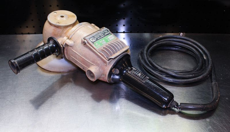Vintage RUPES Milano Rotary Polisher - Type Vander - 1500 RPM