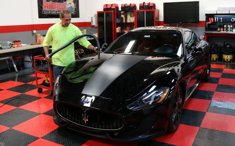Re: Review: Pinnacle Jeweling Wax   2014 Maserati GT Sport Detailed By Mike  Phillips