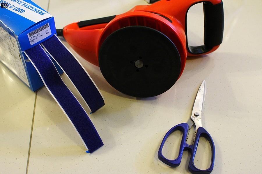 Diy For Budget Black And Decker Kp 600 Da Velcro Hook