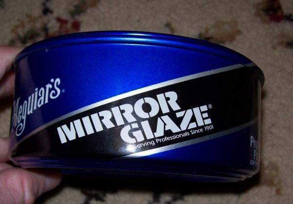 brand new can of meguiars mirror glaze 16. Black Bedroom Furniture Sets. Home Design Ideas