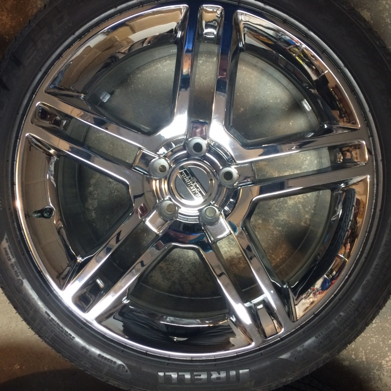 "Pirelli P Zero Nero >> For Sale SHELBY GT500 Chrome Wheel & Pirelli Tire Kit 19"" - Ford Mustang Forums : Corral.net ..."
