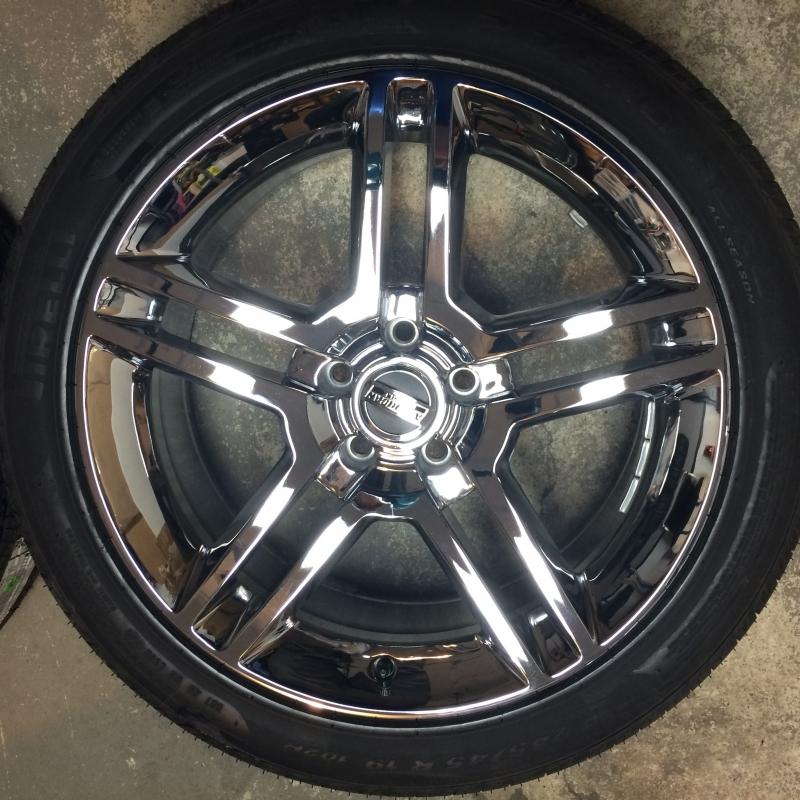 "Pirelli P Zero Nero >> For Sale SHELBY GT500 Chrome Wheel & Pirelli Tire Kit 19"" - Ford Mustang Forums : Corral.net ..."