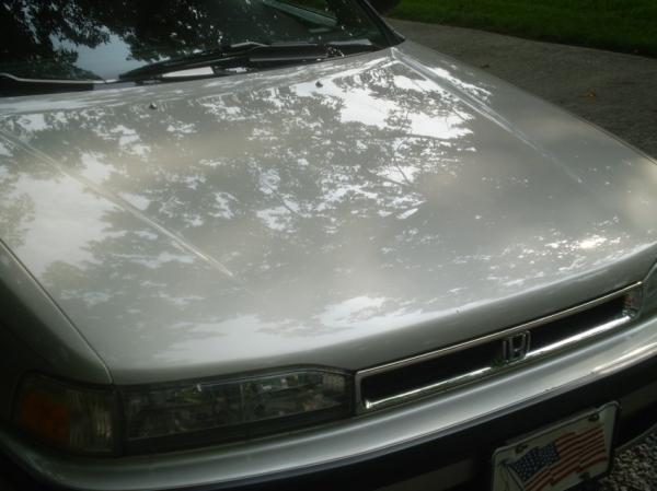 1990 Honda Accord - Iron X, polish, and Opti-Coat