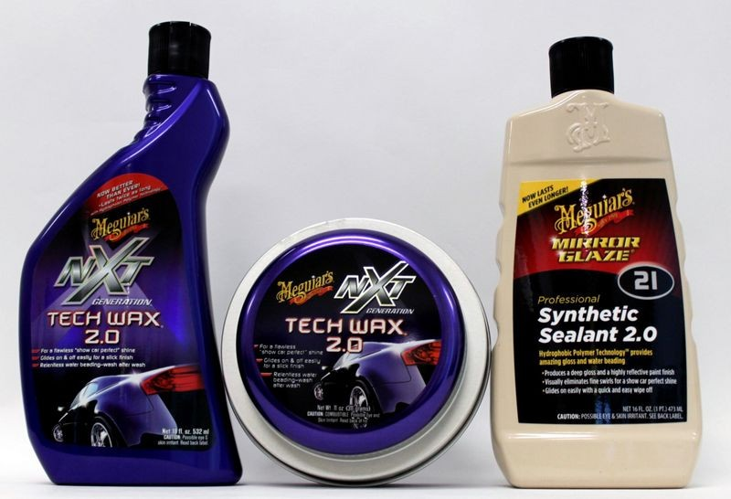 The Difference Between A CleanerWax And A Finishing Wax - Show car cleaning products