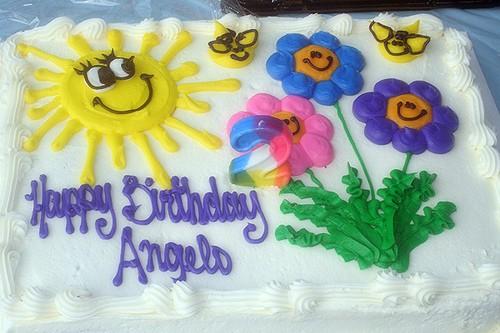 Birthday Angelo Cake