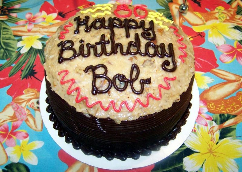 Happy Birthday FUNX - Happy birthday bob cake