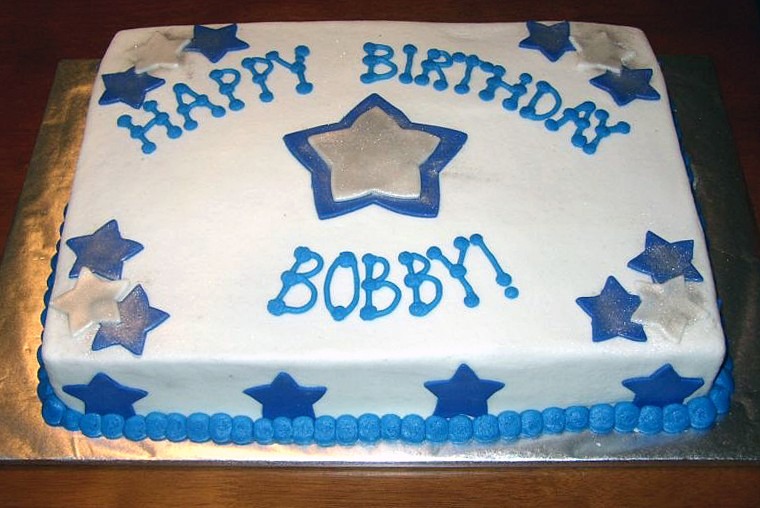 Happy Birthday BobbyG - Happy birthday bob cake