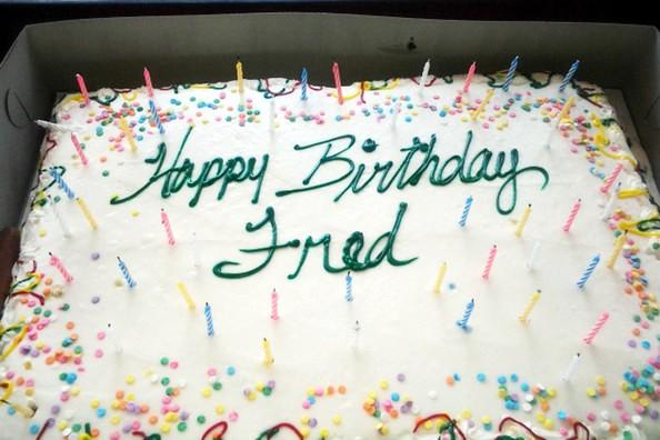 Happy Birthday Fred Aka Feslope