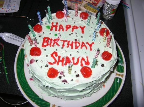 Birthday Mike Cars Cake