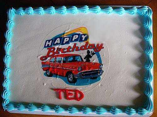 Ted Birthday Cake