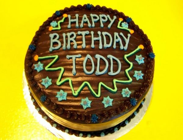 Happy Birthday Todd
