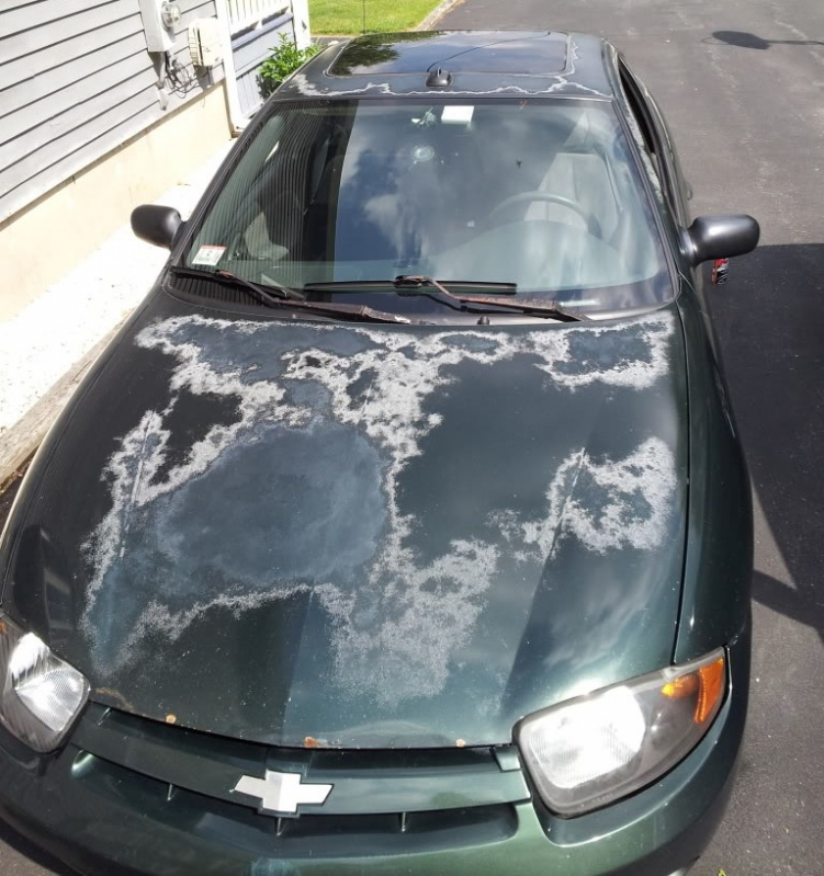 How To Get Oxidation Off Car Paint