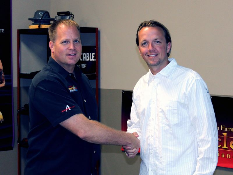 Autogeek's Mike Phillips and Matt Steele from the Speed Channel.