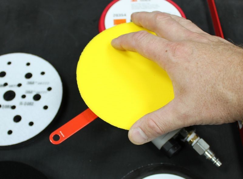 for Sanding Rounded Surfaces and Contours Hook /& Loop Sanding Discs Soft Interface Pad SENRISE Sanding Pad Backing Pad