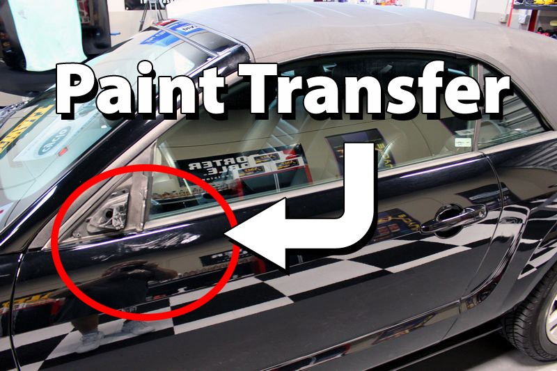 how to remove paint transfer off your car 39 s paint