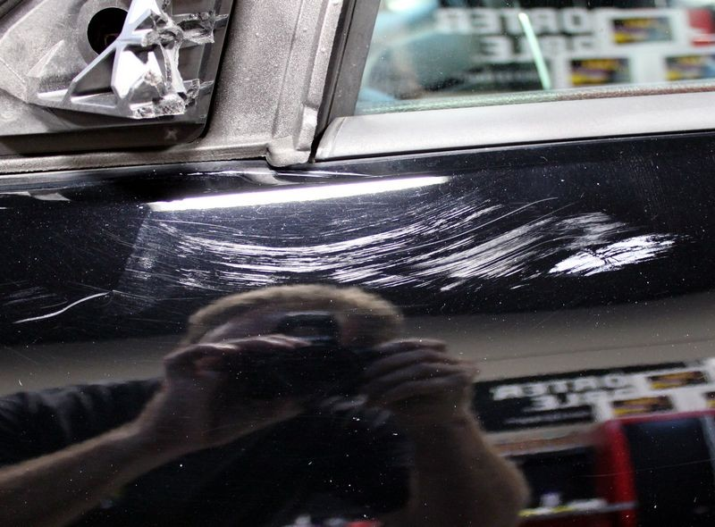 How To Remove Paint From A Sideswiped Car