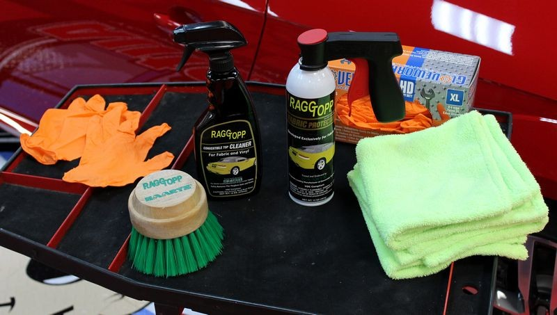 Raggtopp Fabric Protectant Protect Fabric Convertible Car