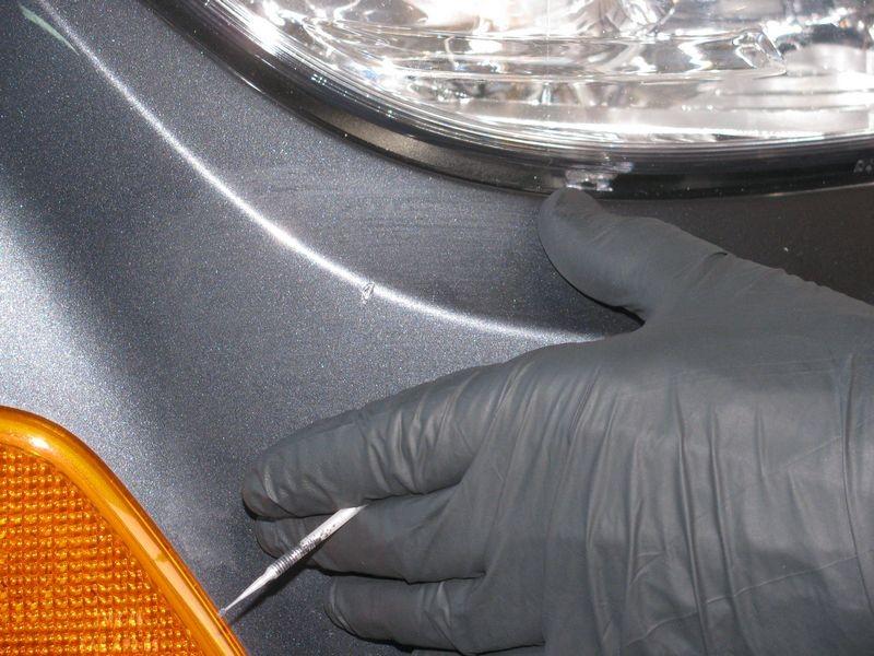 2008 Mercedes C300 Detail - Dr  ColorChip & Opti Gloss-Coat