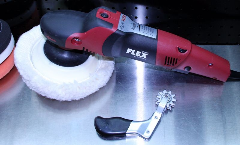 My recommended buffing pads for the Flex PE14
