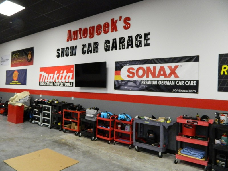 Autogeek S Show Car Garage Expansion Is Completed