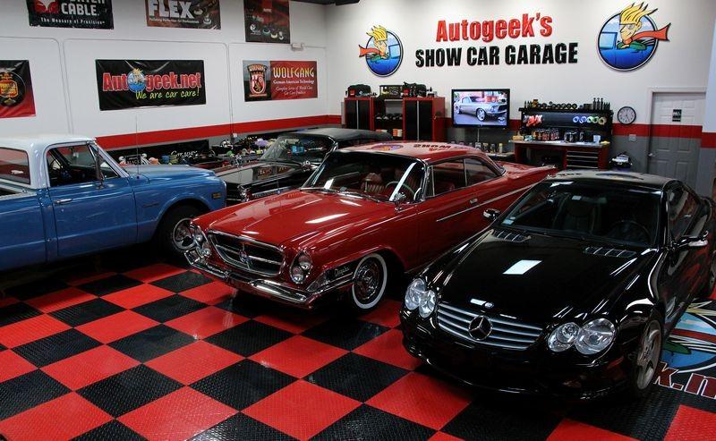 Sneak Peek Inside Autogeeks Show Car Garage - Show car garage