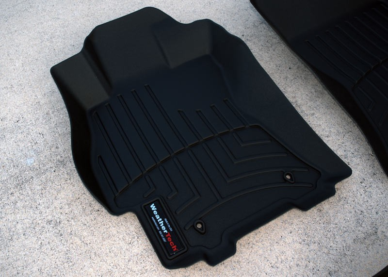 weathertech mats: inexpensive insurance for keeping your interior