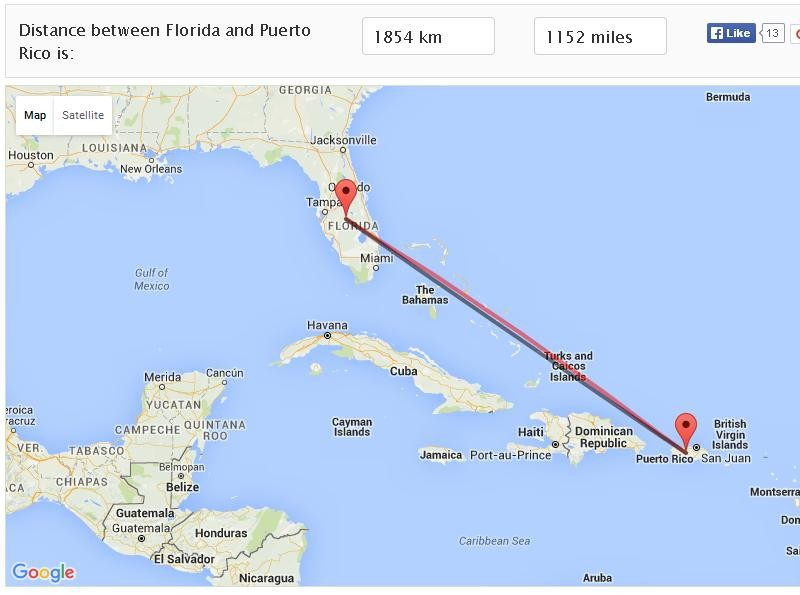 From Puerto Rico To Stuart Florida For Our 3day
