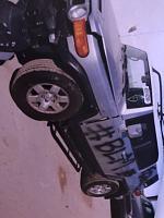 Riot, sorry protest, damaged fj cruiser.  Spray paint removal-62664883922__d4d23778-5ac9-42c5-a920-26a96519fe79-jpg