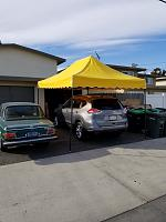 ... Mounted both of my California Palms 10 x 15 canopy frames in my Mobile rig today ... & Mounted both of my California Palms 10 x 15 canopy frames in my ...