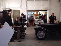 On the set of Chasing Classic Cars-imageuploadedbyagonline1397659688-645547-jpg