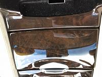 How to Remove Hair line scratches on Wood Trim?-console1-jpg