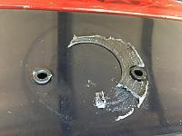 Goof Off vs 3M Adhesive Remover vs Brake Cleaner for removing sticky stuff-trunk-emblem-jpg