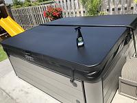 Marine 31 Vinyl Protectant on Hot Tub cover. Great Stuff-img_0004-jpg