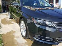 2014 Chevy Impala detail