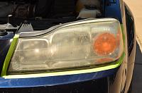 Headlight Restoration using Mirka discs & McKee's 37 Polish-dsc_6799-jpg