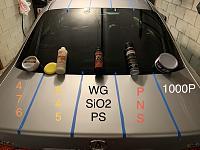 Wolfgang SiO2 Paint Sealant versus Traditional Sealants - Test!-adjustments-jpg